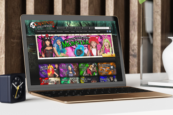 Creepers Halloween - Magento E-Commerce Website